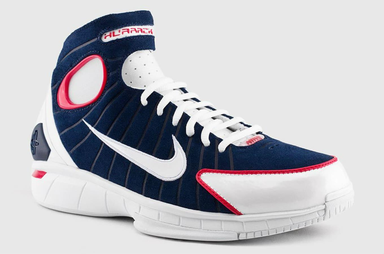2c4c1c98a2e4 Nike Air Zoom Huarache 2K4 Midnight Navy White-University Red 308475-400