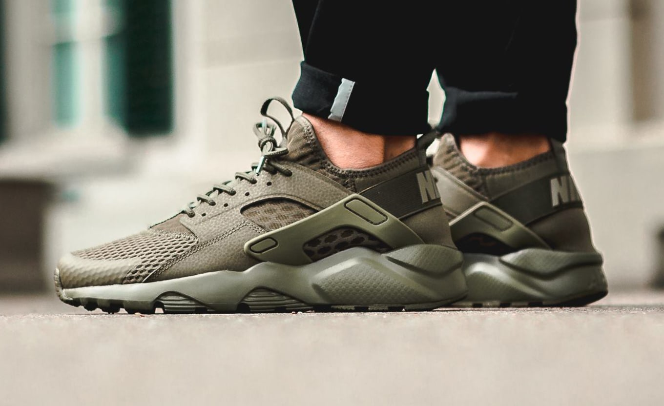 san francisco 47286 b9739 Olive Nike Air Huarache Ultra | Sole Collector