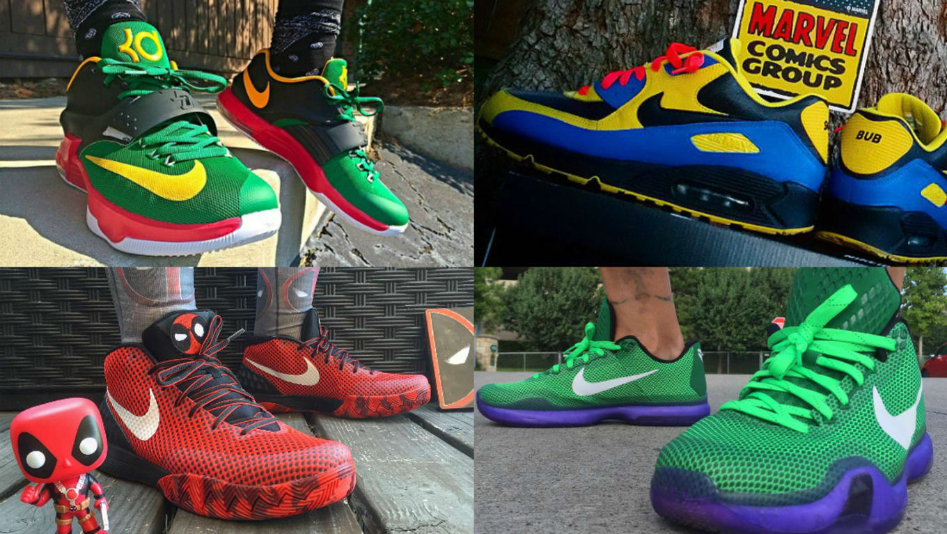 NIKEiD Nike By You Superhero Designs | Sole Collector