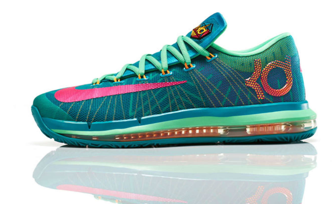 fac208c592 The KD line hit its highest price point ever with Elite version of the KD  6. Along with that price, it featured the same Max Zoom cushioning unit  first seen ...
