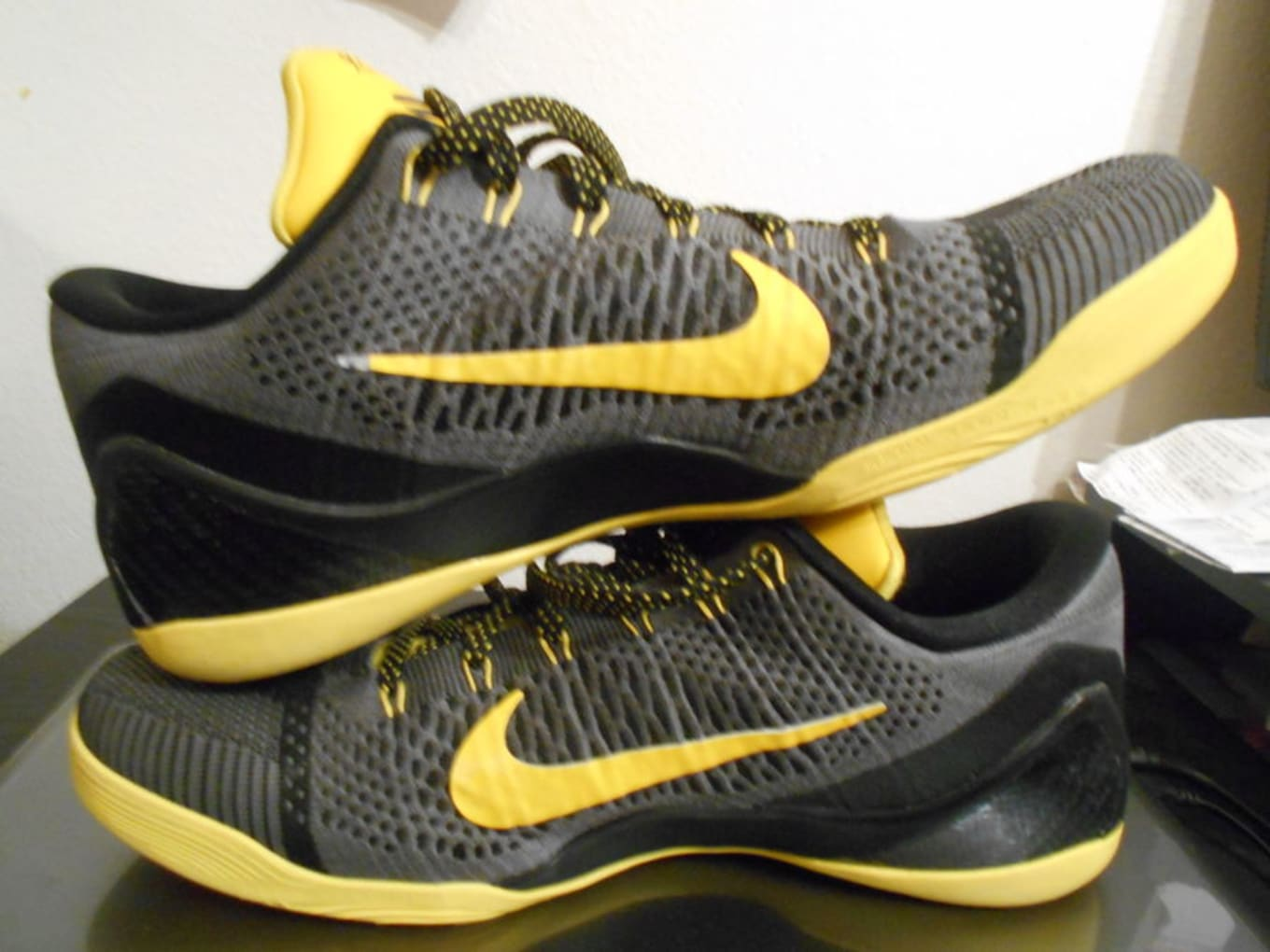a14b5868d10b Kobe 9 Elite Low Black Tour Yellow-Dark Grey