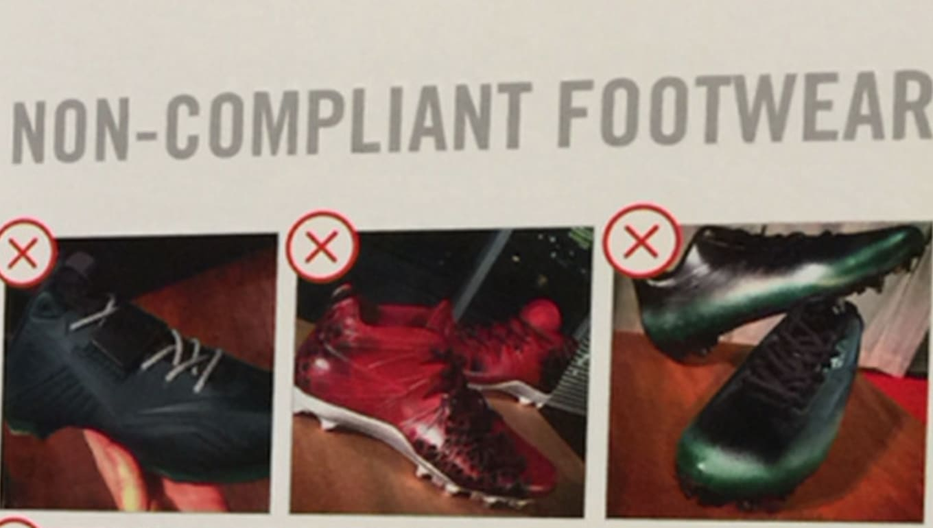 Nike is threatening to terminate contracts of athletes wearing custom  sneakers. 3b28c78ea