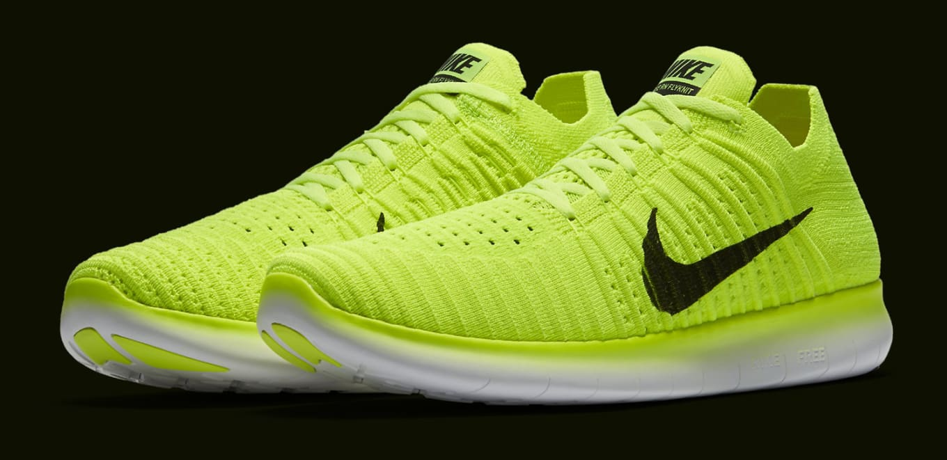 bd2564c2fb28c9 USA Olympians Will Wear These Nikes on the Medal Stand. Volt Flyknits for  the medal stand.