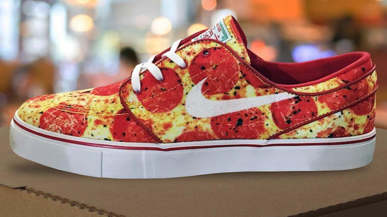 Skate Mental x Nike SB Stefan Janoski 'Pepperoni Pizza ...