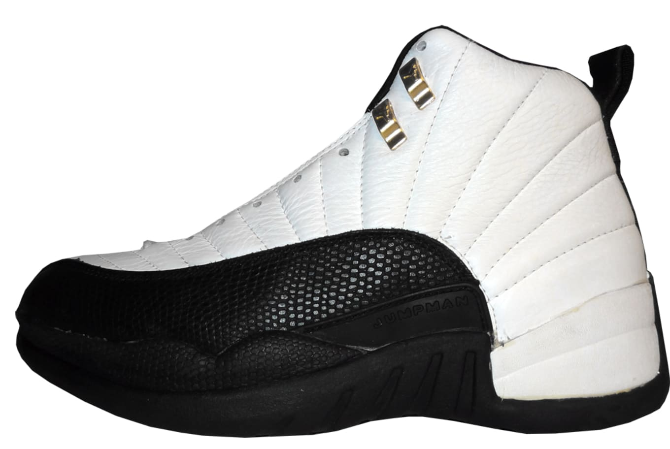 best cheap 5738c c7b99 Air Jordan XII Taxi 130690-101. WhiteBlack-Taxi
