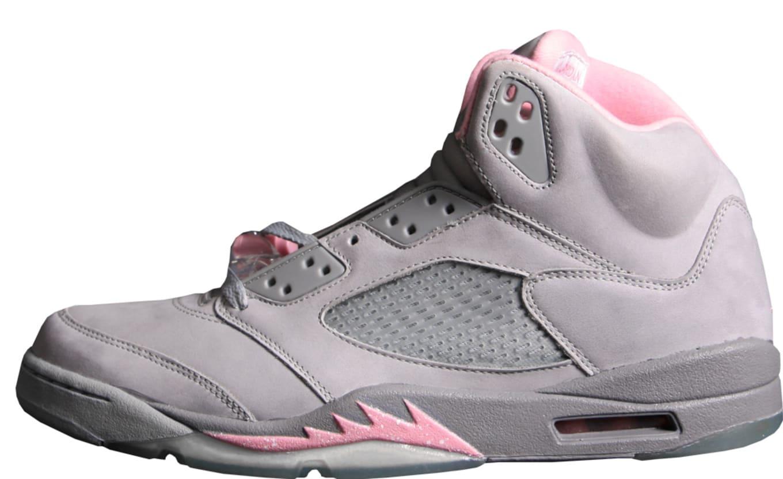 huge selection of 05f24 f1854 ... Pink-Court Air Jordan 5 Retro Women s ...