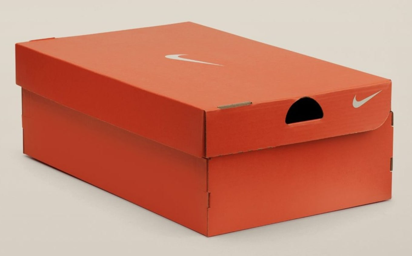 quality design c04c6 7a4f5 When Phil Knight debuted the Nike brand at the National Sporting Goods  Association Show in Chicago in 1972, he sought packaging that ...