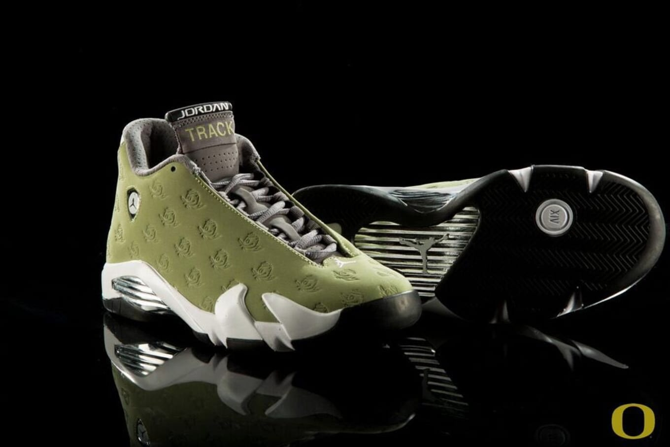 on sale ae18a b86ec Oregon Track   Field Air Jordan XIV 14 PE