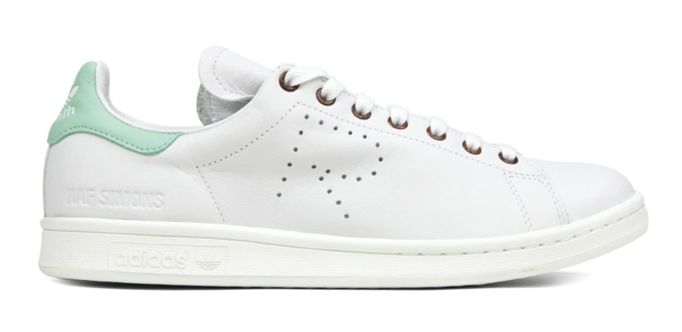 Raf Simons Adidas Stan Smith White Green Eneste samler    Raf Simons Adidas Stan Smith hvidgrøn   title=          Sole Collector