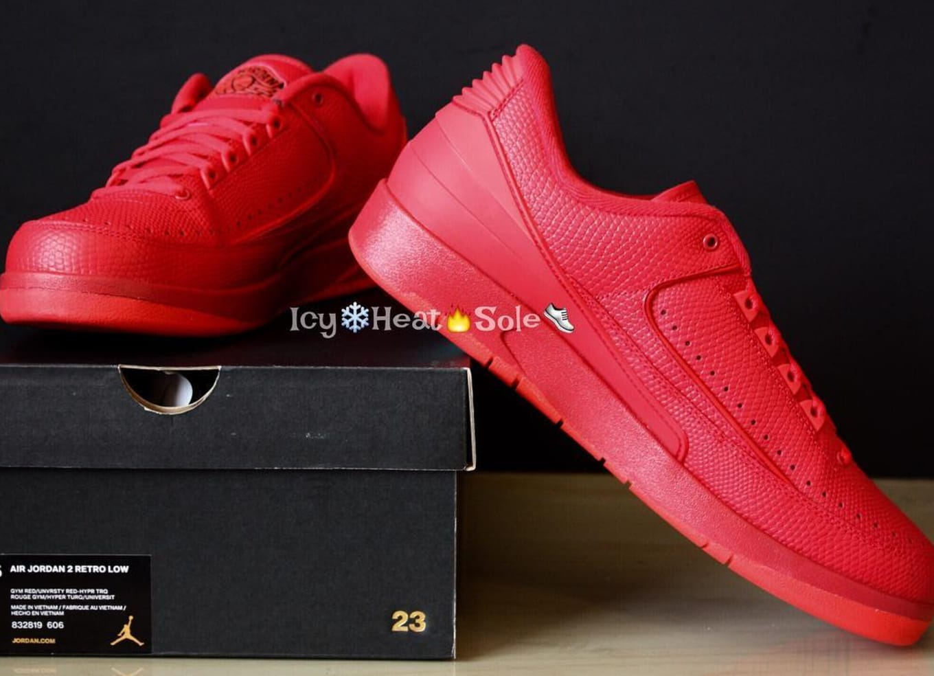 1d7a6cd7be0e5a Red Jordan 2 Low · Air Jordan 2 Retro ...