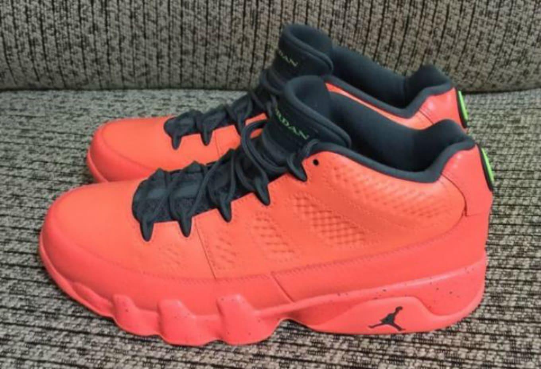 ae4efa7f6573 Red Jordan 9 Low 832822-805