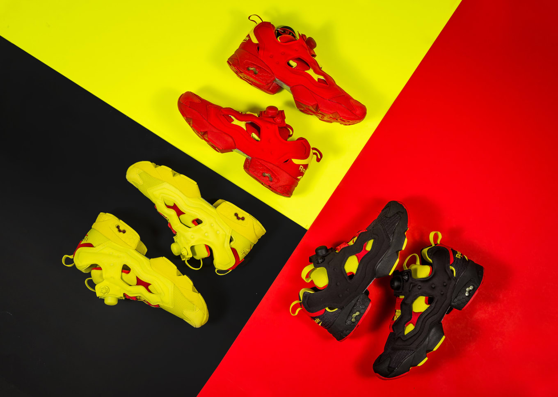 4a4814457b89 Reebok Splits Up the Original Insta Pump Fury. Packer Shoes with an Insta  Pump Fury remix.