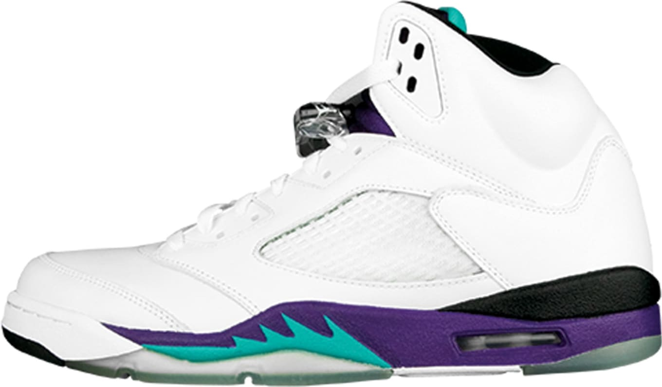 uk availability 04182 32746 Air Jordan 5 Retro LS  Grape
