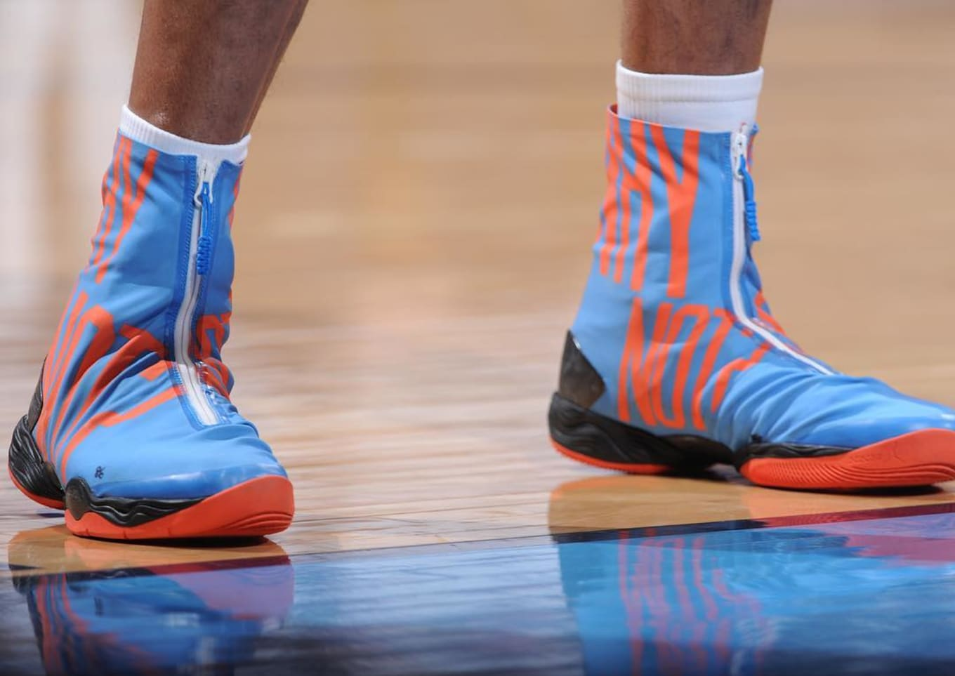 Russell Westbrook Wearing the