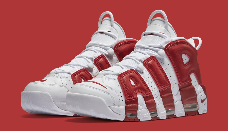 Nike Uptempo White Red Scottie Pippen  2698223fa