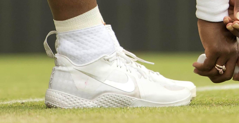 627354bf7e48d9 Serena Williams wins Wimbledon 2015 in the NikeCourt Flare