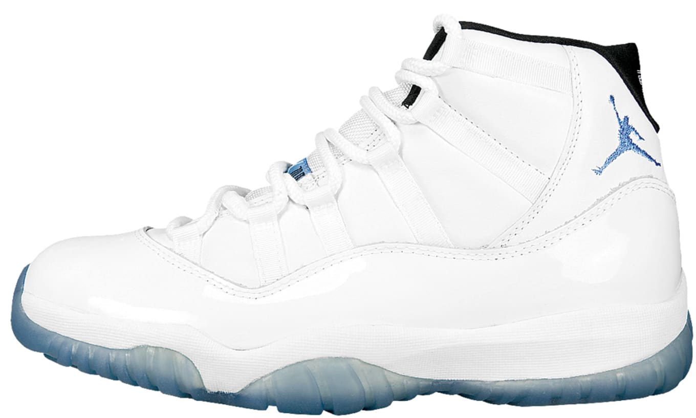 sale retailer 2da63 5a177 Air Jordan XI OG White Columbia Blue Black