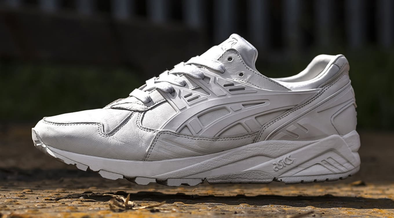 ffbe8458bcec Size Asics Gel Kayano Italian Leather White