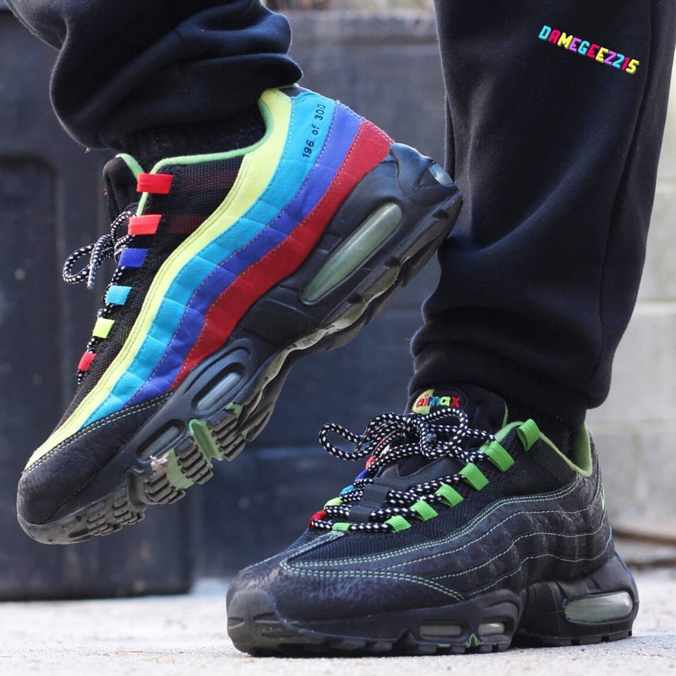 Nike Air Max 95: ''Sole Collector Cowboy Special', Limited