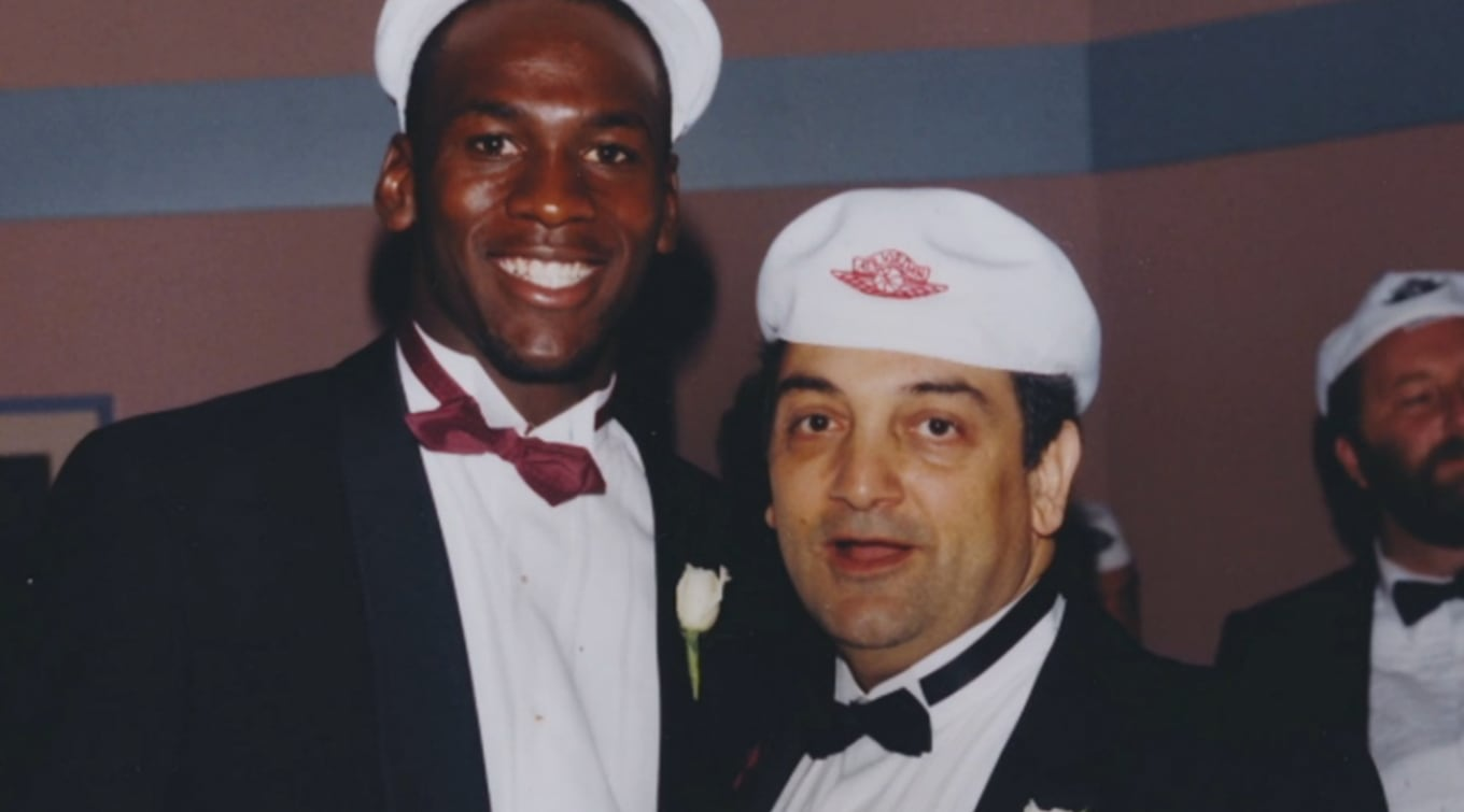 Sonny Vaccaro Michael Jordan Nike | Sole Collector