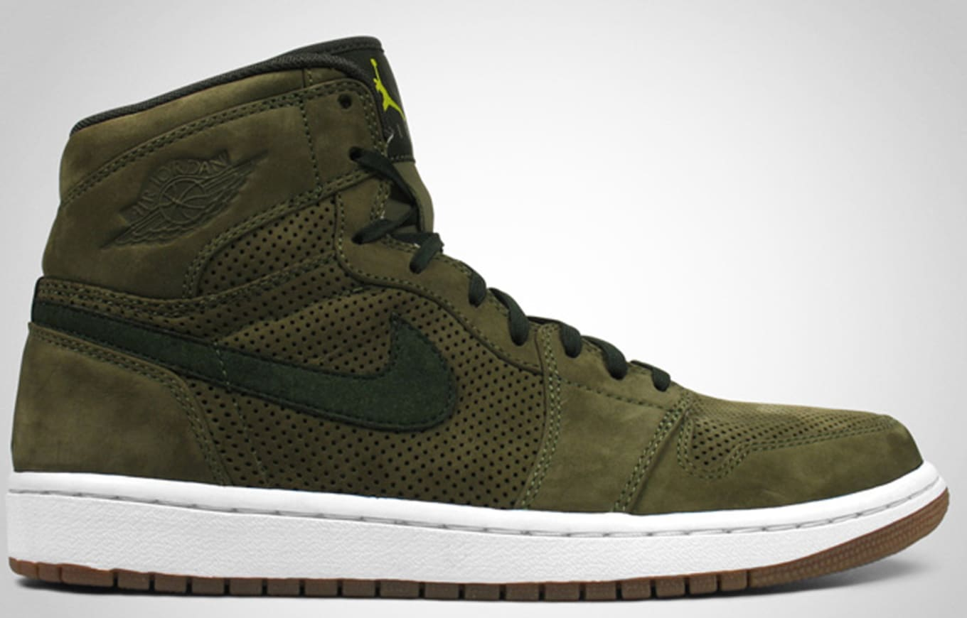 online store 1d5df 16980 Air Jordan 1 High Retro Premier EPM Urban Haze Dark Army Bright Cactus
