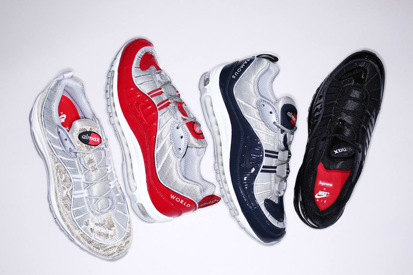 Nike Officially Introduces The Supreme x NikeLab Air Max 98