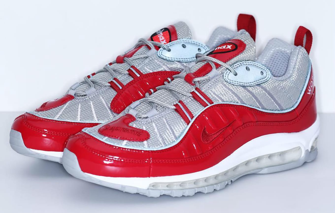 4e8e045a2fd9 Supreme x Nike Air Max 98 Red