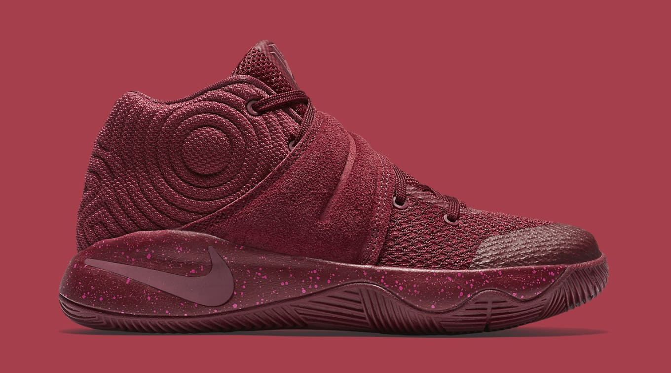 reputable site 87857 0bb52 Red Suede Nike Kyrie 2 | Sole Collector