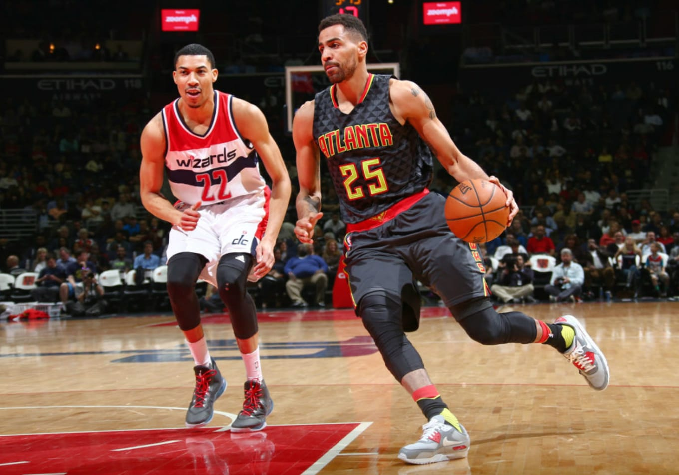 various colors 6b0b0 3ca5f Thabo Sefolosha Plays in the Nike Air Max 90