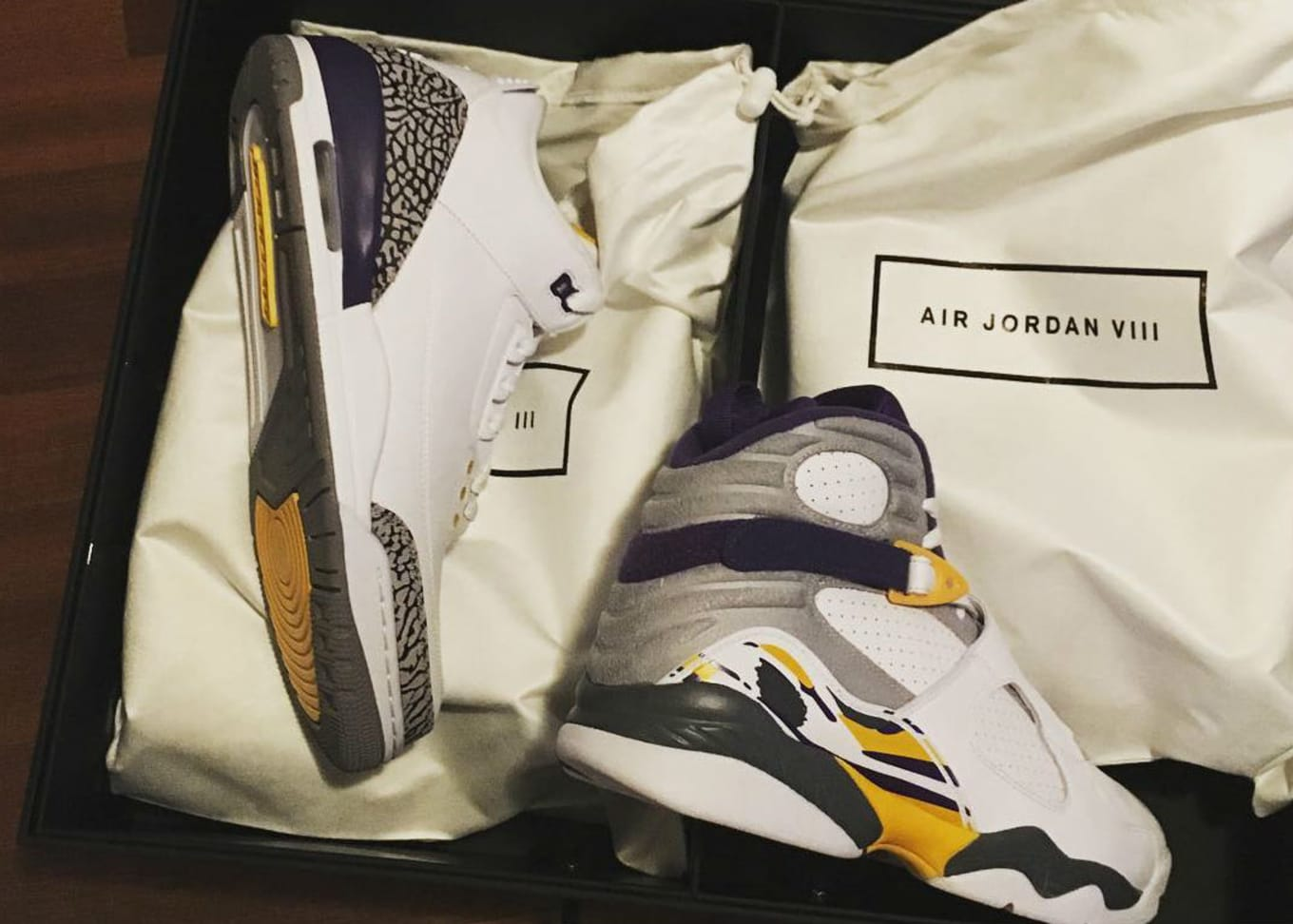 wholesale dealer 68d6f 795a7 Kobe Bryant Air Jordan 3   8 Pack