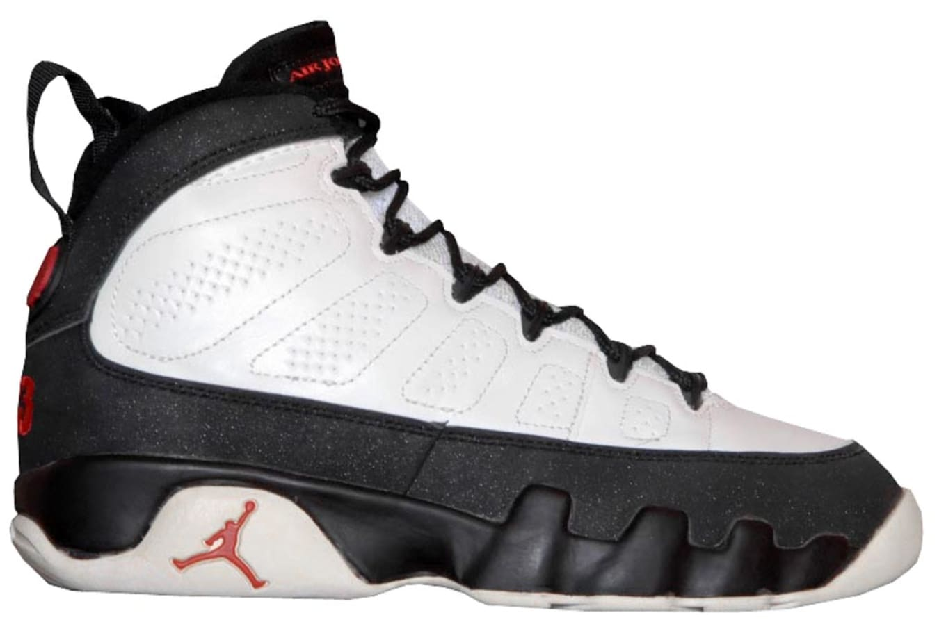 Air Jordan 9 (IX). Style Code  130182-100. Colorway  White Black-True Red  Release Date  1993 75a5b811e