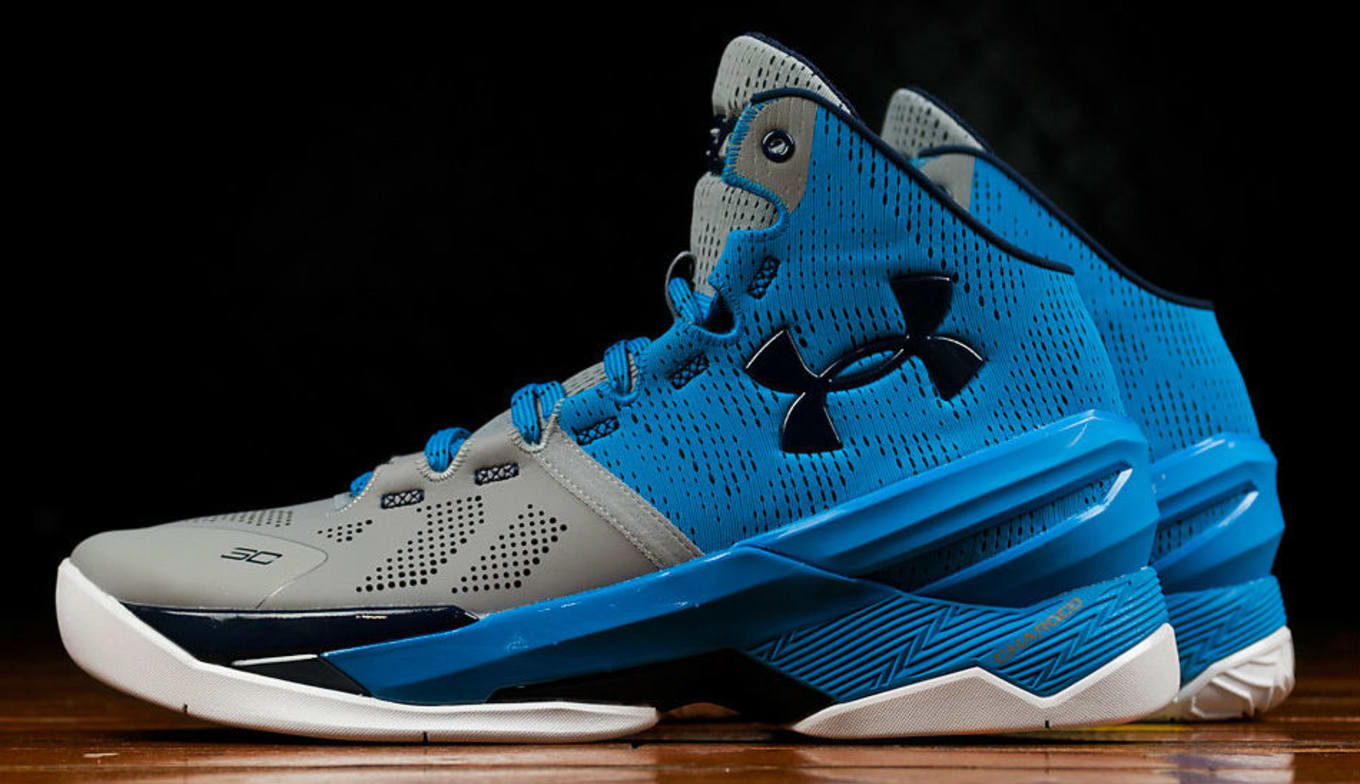 super popular 5061c 405db Under Armour Curry Two Steel/Electric Blue-Navy | Sole Collector