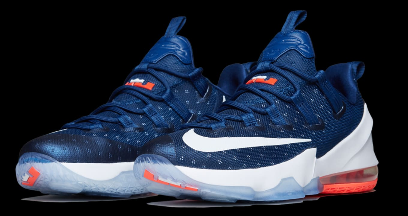 5429449de84c Nike LeBron 13 Low USA 831925-416 (1)