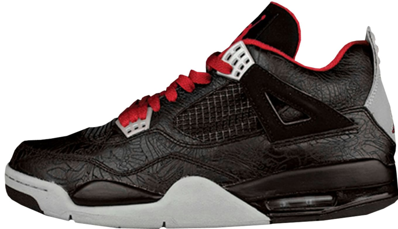 release date: cb4ea 54fb8 Air Jordan 4 Retro Rare Air  Laser . Air Jordan. Style Code  312255-061.  Colorway  Black Varsity Red-Medium Grey