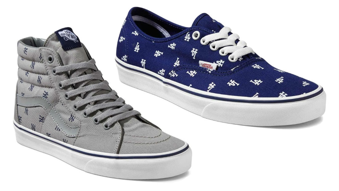 af7de75efc Vans MLB Collection