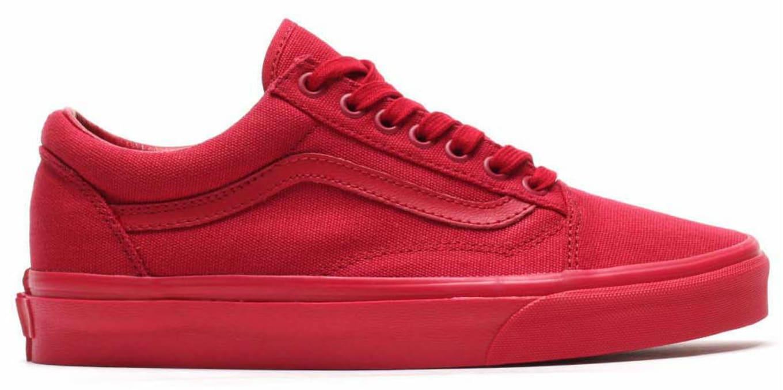 Vans Old Skool Red (1) d74b71e329