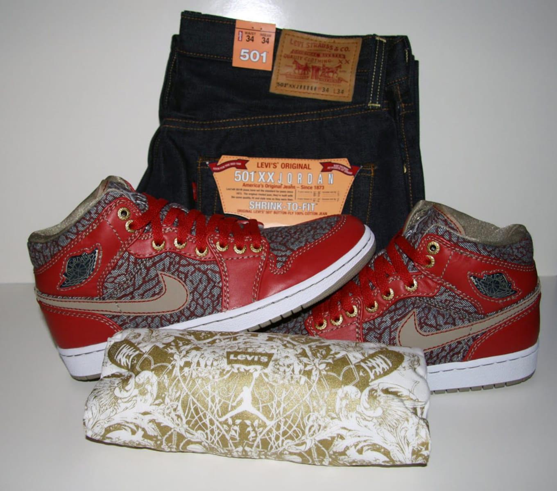 f6a3de03749387 Michael Jordan is known for wearing the finest denim