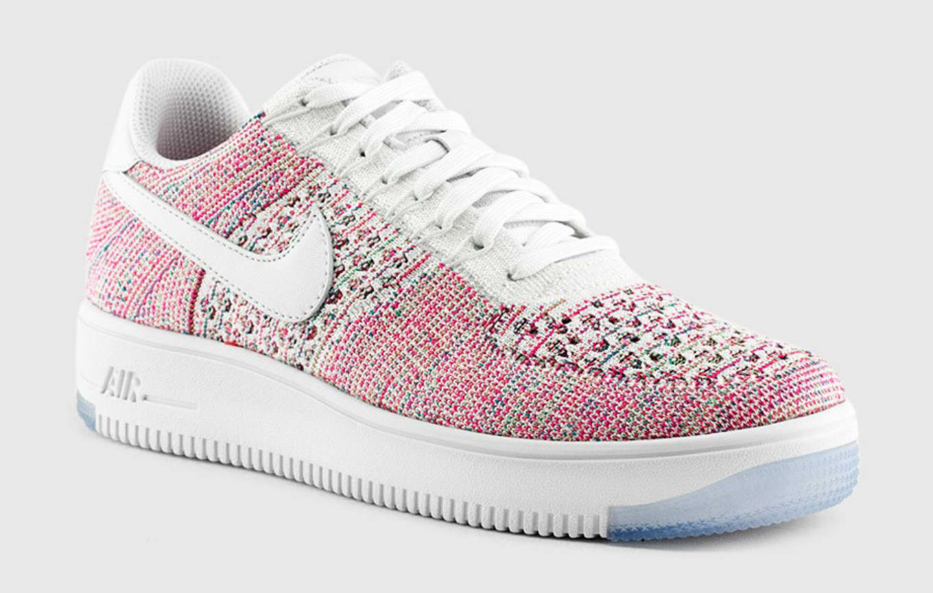 c951ee3df13a WMNS Nike Flyknit Air Force 1 Multicolor