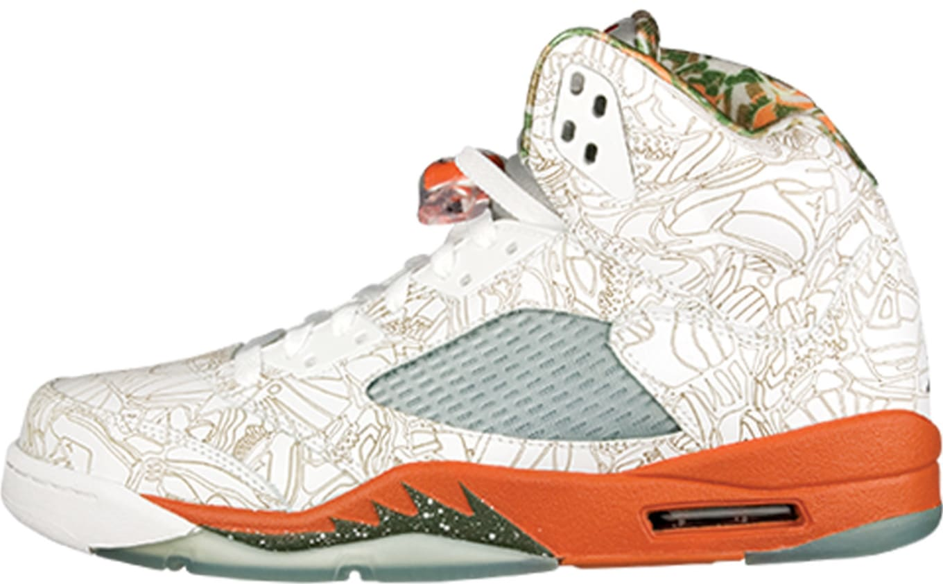 best service 9aa56 76e79 Air Jordan 5 Retro RA  Laser