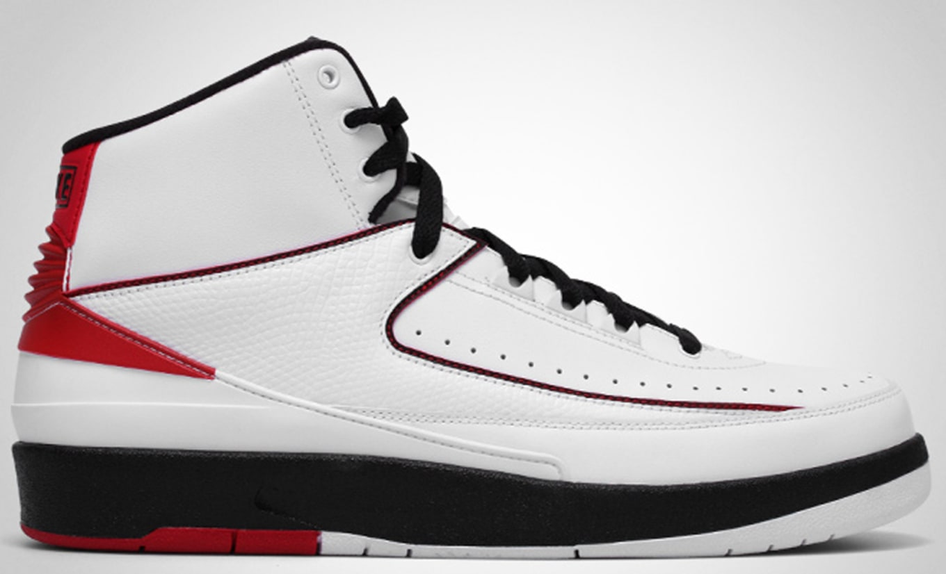 uk availability 72950 723cd Air Jordan 2 Retro QF White Black Varsity Red
