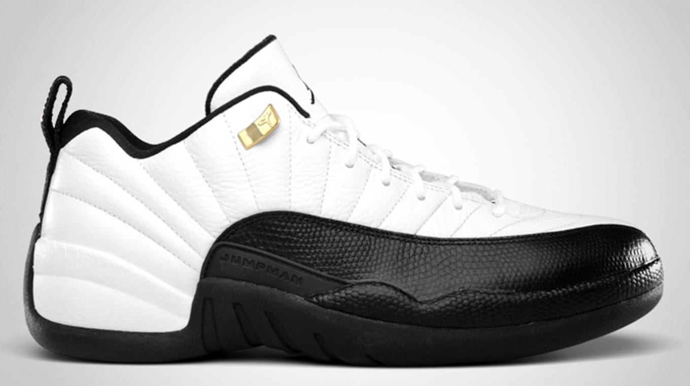 e35490903c986d Air Jordan 12 Retro Low  Taxi  308317-104. White Black-Taxi