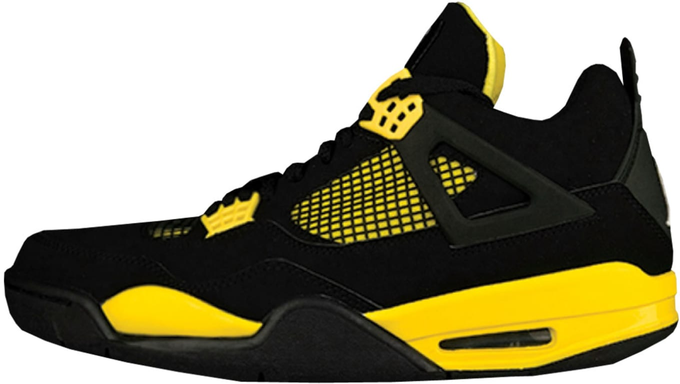 info for 20a36 8266f Air Jordan 4 Retro LS  Thunder