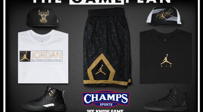 """2846790e091e98 The Game Plan by Champs Sports Presents the Jordan """"Master"""" Collection"""