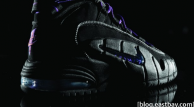 huge discount 2b08b 26fb1 Nike Air Max Penny Black Club Purple. By Sole Collector