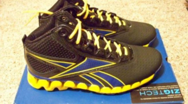 Reebok Zig Pro Future - Black Blue Yellow a2147e5f4d75