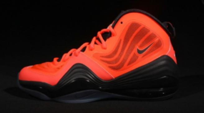 half off a910a 87521 Nike Air Penny V - Bright Crimson Black