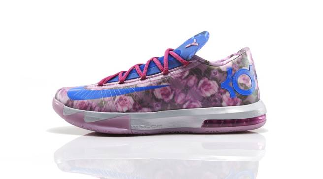 Nike KD VI Supreme Light Arctic Pink Photo Blue-Vivid Pink  b8a7a6dd6736