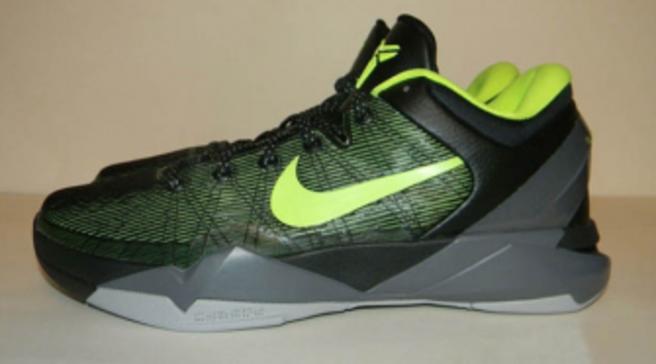 Nike Kobe VII - Black Volt Grey Sample 7ad82f46e