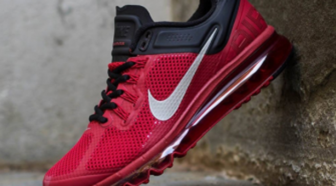 3f0598f013dd Nike Air Max+ 2013 - Gym Red Reflective Silver-Black
