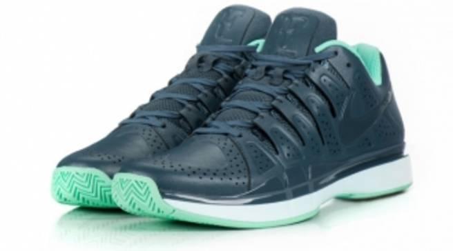 4beda37d6a05e Nike Zoom Vapor 9 Tour LE Dark Armory Blue Teal Tint-Green Glow ...